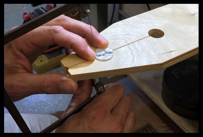 Custom Inlay and Guitar Inlay services